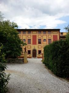Villa Carri Braschi - facade