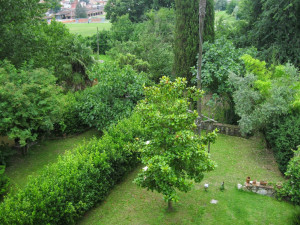 Villa Carri Braschi - jardines